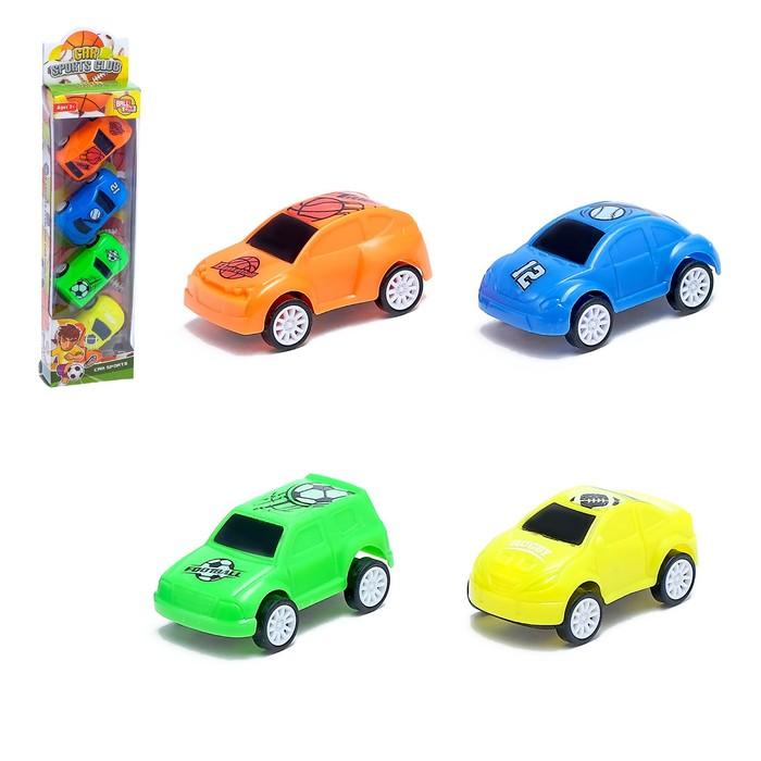 """Машина """"Спорт"""", набор 4 шт."""