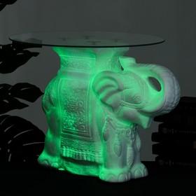 """Подставка - стол светящийся """"Слон"""" 58х28х50см"""