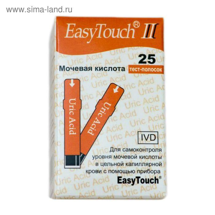 Тест-полоски на мочевую кислоту EasyTouch (25 шт)