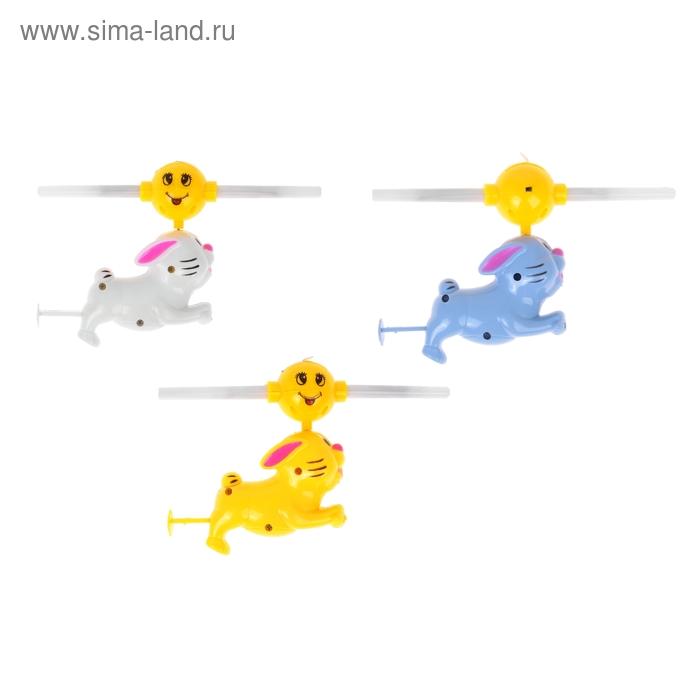 """Вертушка световая """"Заяц"""", цвета МИКС"""