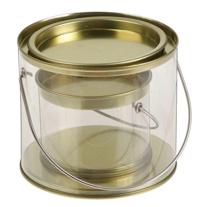 Набор тубусов 2в1, 10 х 10 х 8,5 - 7 х 7 х 5 см