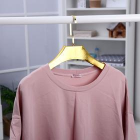 Вешалка-плечики для одежды, размер 42-44, цвет золотой - фото 4642552