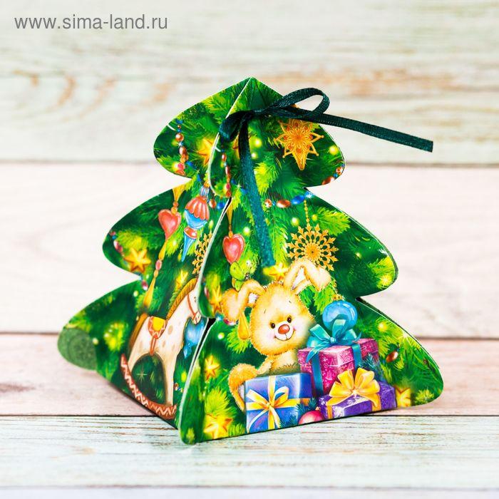 Коробка сборная фигурная «Праздничные подарки», 8 × 8 × 12 см