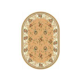 Овальный ковёр Laguna 5455, 150 x 190 см, цвет beige