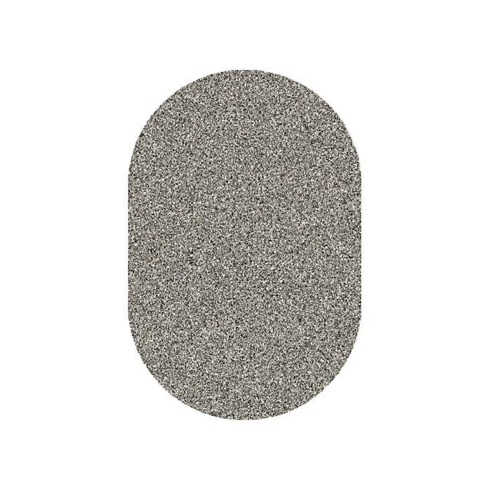 Ковёр Фризе ПП PLATINUM_t600, 2,5*5, овал, GRAY-MULTICOLOR MР