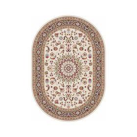 Овальный ковёр Shahreza d210, 280 х 470 см, цвет cream-brown