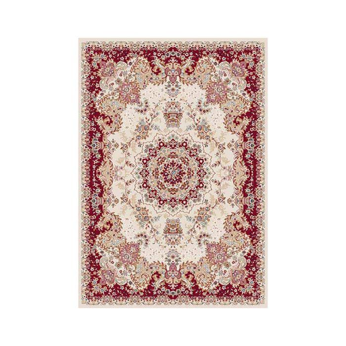 Ковёр Хит-Сет ПП SHAHREZA_d211, 0,8*1,4, прямоугольный, CREAM-RED MР