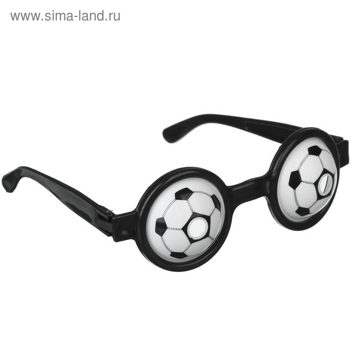 """Карнавальные очки детские """"Футбол"""", глаза, цвета МИКС"""