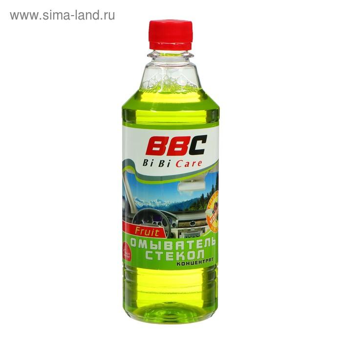 """Жидкость для омывания стекол """"Антимуха"""" BiBiCare, фруктовая 0,55л"""