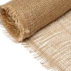 Материал укрывной джутовый, 0.95 х 5 м, плотность 190 г/м², плетение 34/24
