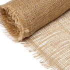 Material jute, 0,95 x 5 m, density of 190 g/m2, weave 34/24