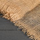 Материал укрывной джутовый, 0.95 х 8 м, плотность 190 г/м², плетение 34/24