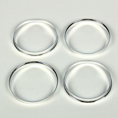 Алюминиевое центровочное кольцо, диаметр наружний 74,1 мм, внутренний 72,6 мм, набор 4 шт.