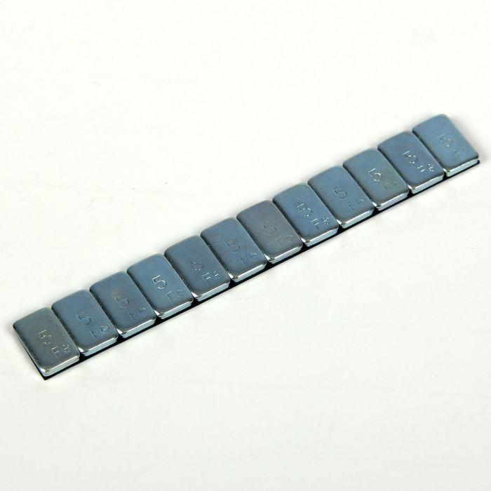 Грузики стальные самоклеящиеся, набор 100 пластин 12x5 г