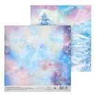 Бумага для скрапбукинга «Северное сияние», 15,5 × 15,5 см