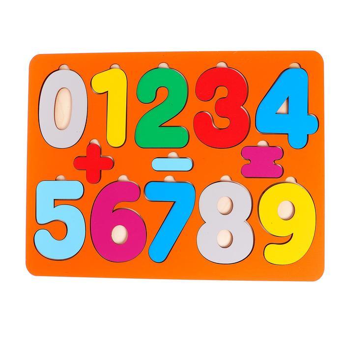 Рамки-вкладыши «Цифры», макси