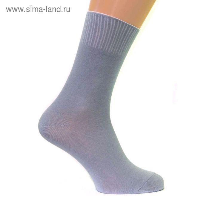 Носки мужские с медицинской резинкой С161 цвет МИКС, р-р 25