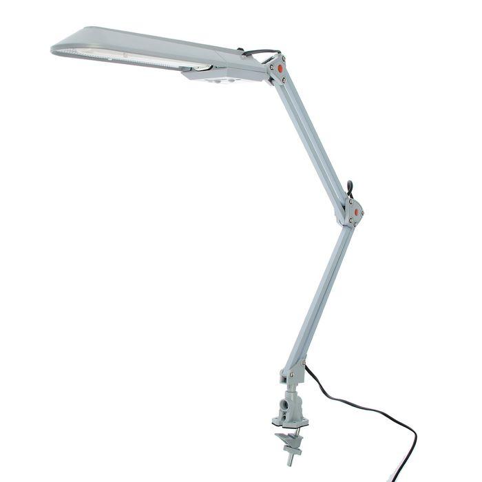 Светильник настольный NL-201 G23 11Вт серый