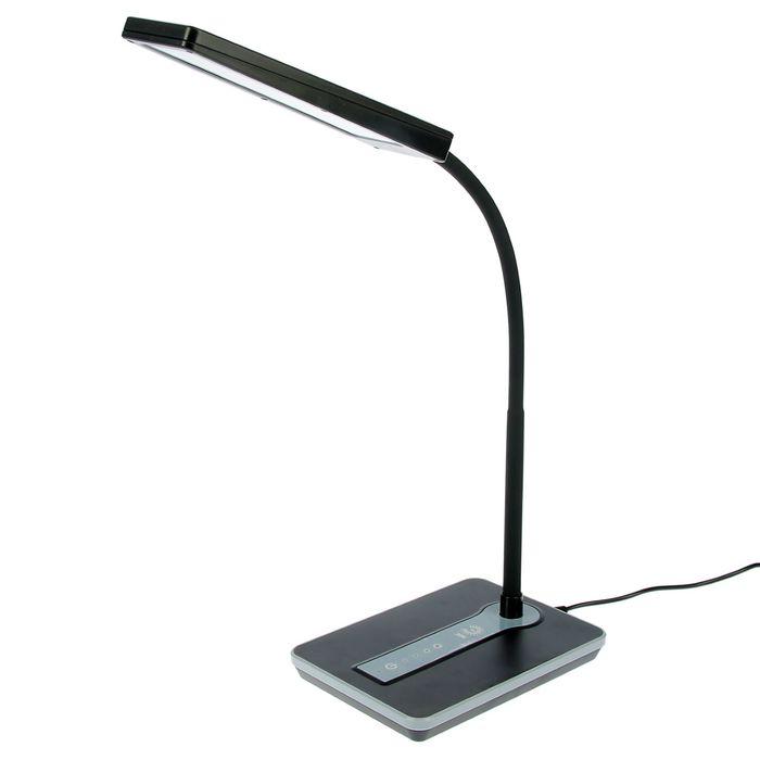 Светильник настольный 446 LED 9Вт черный