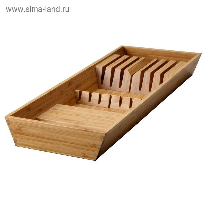 Подставка для ножей, бамбук ВАРЬЕРА