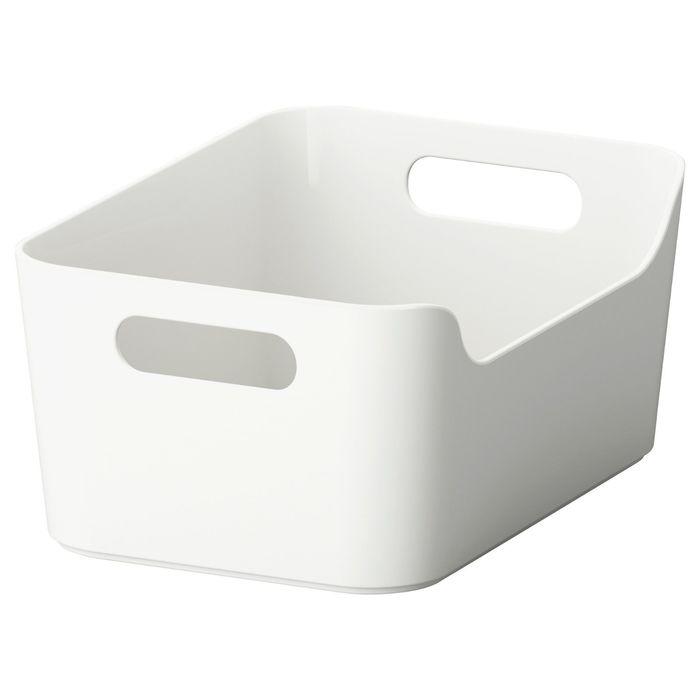 Ящик, цвет серый ВАРЬЕРА