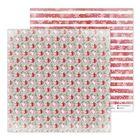 Бумага для скрапбукинга «Еловые веточки», 30,5 × 30,5 см