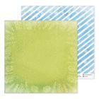 Бумага для скрапбукинга «Голубой узор», 30,5 × 30,5 см