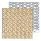 Бумага для скрапбукинга «Снежинки», 30,5 × 30,5 см