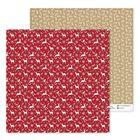 Бумага для скрапбукинга «Веточки», 30,5 × 30,5 см