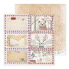 Бумага для скрапбукинга «Письма из леса», 30,5 × 30,5 см
