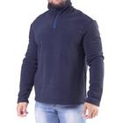 """Толстовка мужская """"Ричи"""", цвет темно-синий, на короткой молнии, размер 46 3010"""