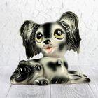 """Копилка """"Собака Тоби"""", глазурь, 20 см, микс"""