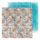 Бумага для скрапбукинга «Фигурное печенье», 30,5 × 30,5 см 180 гр/м