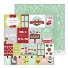 Бумага для скрапбукинга «Новогодние подарки», 30,5 × 30,5 см