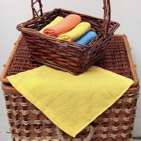 Салфетка 'ВыгоДА', размер 24х24 см, цвет жёлтый Ош