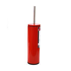 Ёрш для унитаза из нержавеющей стали, цвет красный