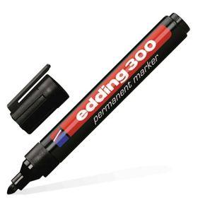Маркер перманентный 3.0 мм EDDING E-300/1, (нестираемый) чёрный