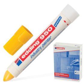 Маркер-паста промышленный EDDING INDUSTRIAL -50 до +200С, 10 мм, жёлтый