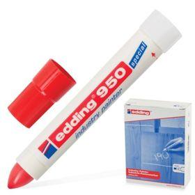 Маркер-паста промышленный EDDING INDUSTRIAL -50 до +200С, 10 мм, красный