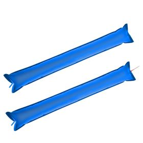 Stick-stuchalka fan, set of 2 pieces, blue color