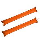 Палка-стучалка болельщика, набор 2 штуки, цвет оранжевый