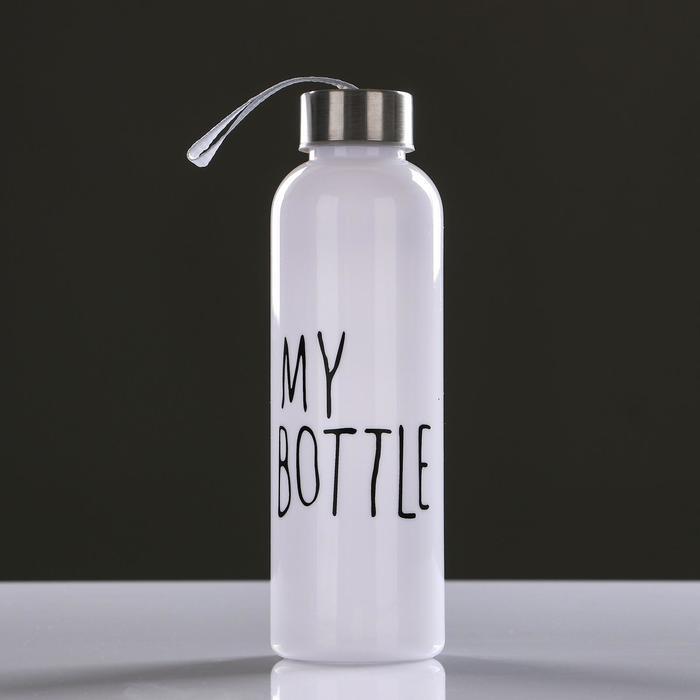 "Бутылка для воды ""My bottle"", 500 мл, 21.5 х 6.5 см"
