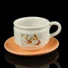 Чайная пара, чашка 130 мл, блюдце 11,5х11,5 см