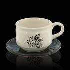 Пара чайная, чашка 130 мл, блюдце 11,5х11,5 см