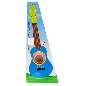Игрушка музыкальная «Гитара», 54 см, розовая