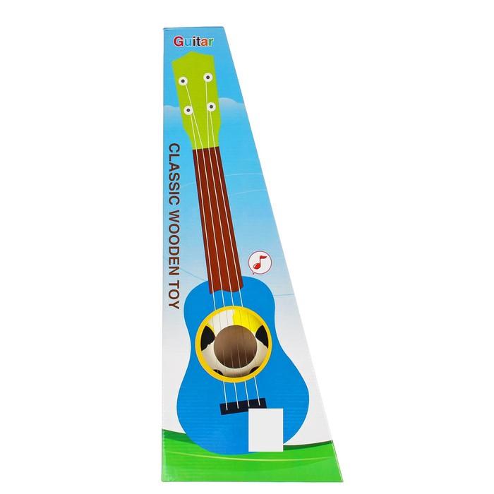 Игрушка музыкальная «Гитара. Панда», 54 см