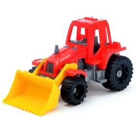 Трактор «Ижора», с грейдером