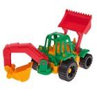 Трактор «Ижора», с грейдером и ковшом - фото 105650729