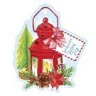 Шильдик декоративный на подарок «Уютный Новый Год», 8,4 × 10 см