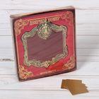"""Рамка дверная в подарочной коробке """"Лев"""", (цвет латунь), 10 х 10,9 см"""